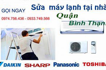 Trung tâm sửa chữa máy lạnh quận Bình Thạnh