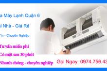 Nhận sửa máy lạnh quận 6 – Vệ sinh máy lạnh quận 6 tại nhà giá rẻ
