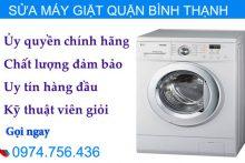 Sửa Máy Giặt Quận Bình Thạnh Đến Tại Nhà Sửa Máy Giặt
