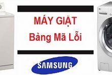 Các lỗi thường gặp của máy giặc Samsung và cách khắc phục