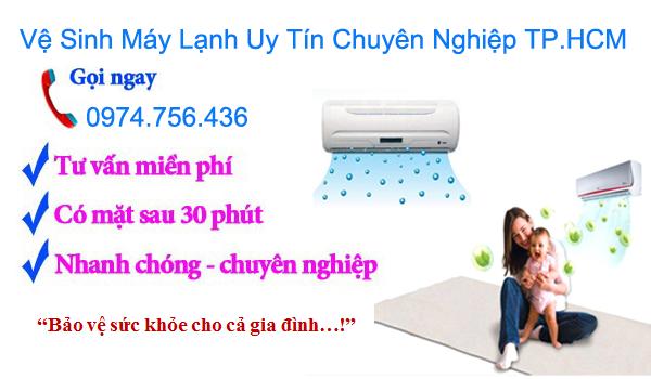 ve sinh may lanh uy tin chuyen nghiep tphcm