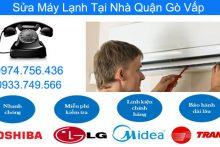 Dịch Vụ Sửa Máy Lạnh Tại Nhà quận Gò Vấp Uy Tín Giá Rẻ