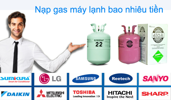 bao lau nap gas may lanh mot lan