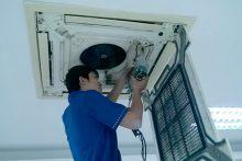 Sửa chữa máy lạnh âm trần tại nhà chuyên nghiệp uy tín TPHCM