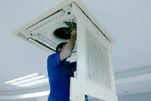 Bảo Trì Vệ Sinh Máy Lạnh Âm Trần Tại Nhà Giá Rẻ TPHCM