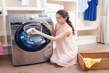 Sửa Máy Giặt Samsung Không Vắt Khô Được Quần Áo Khi Giặt