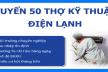 Tuyển Thợ Điện Lạnh – Nhân Viên Bảo Trì Điện Lạnh Làm Việc Tại TPHCM