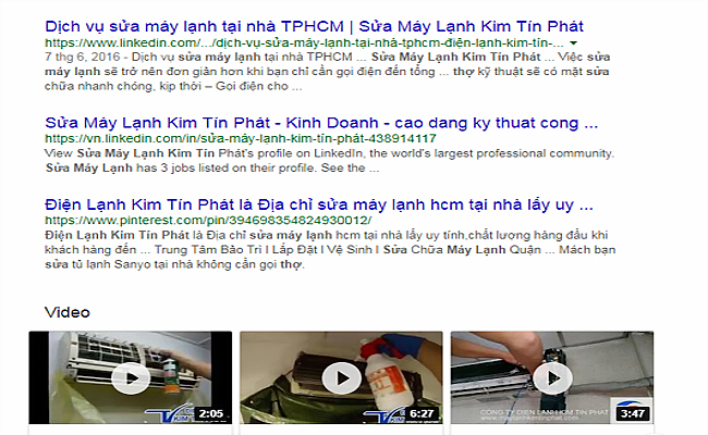 tim tho sua may lanh tren internet