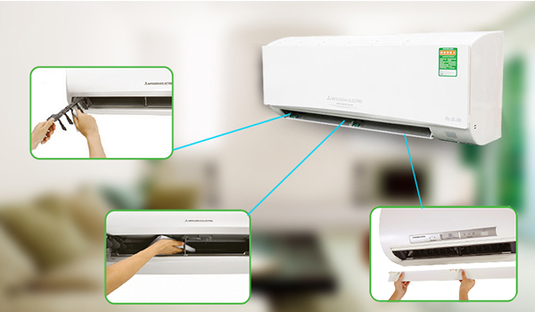 Vệ sinh máy lạnh giá rẻ tại nhà