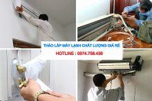 Dịch Vụ Tháo Lắp Máy Lạnh Quận Tân Bình, Bình Tân, Bình Thạnh Giá Rẻ